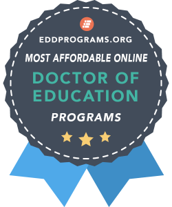 Rankings Award - Most Affordable Online Ed.D. Programs