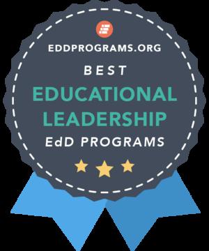 Rankings Badge for EdD in Educational Leadership Programs