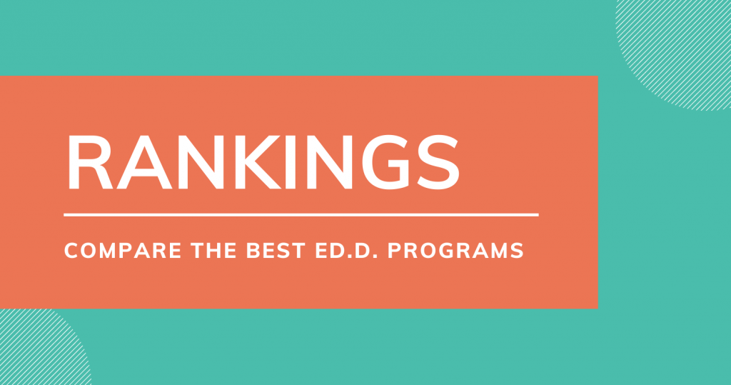 Section on EdD Program Rankings