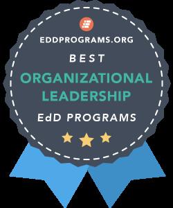 Rankings Badge for EdD in Organizational Leadership Programs